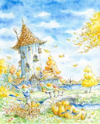 ムーミン森の秋